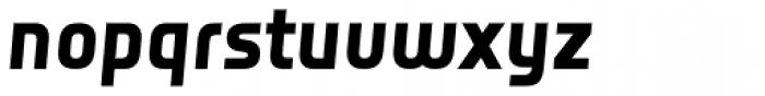 Notes Style Bold Italic TF Font LOWERCASE