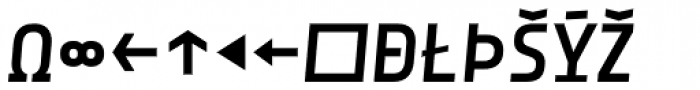 Notes Style Medium Italic Caps Expert Font UPPERCASE