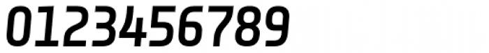 Notes Style Medium Italic Caps TF Font OTHER CHARS