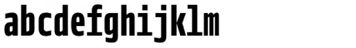 Notes Tec Mono Bold Font LOWERCASE