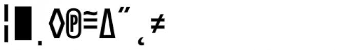 Notes Tec Mono Caps Expert Font OTHER CHARS