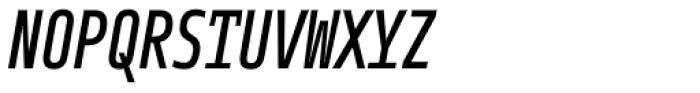 Notes Tec Mono Italic Font UPPERCASE
