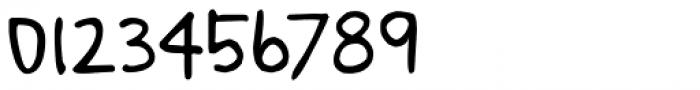 Notetaker Regular Font OTHER CHARS