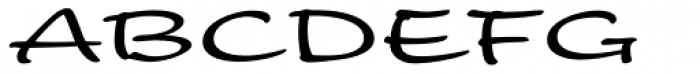 Nothing Font UPPERCASE