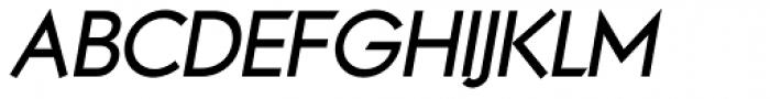 Noticia Oblique Bold Font UPPERCASE