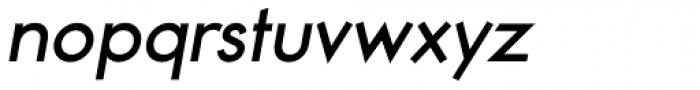 Noticia Oblique Bold Font LOWERCASE