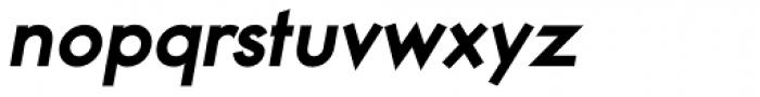 Noticia Oblique Extrabold Font LOWERCASE