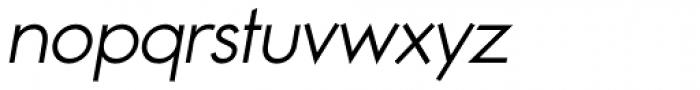 Noticia Oblique Light Font LOWERCASE