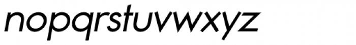 Noticia Oblique Regular Font LOWERCASE