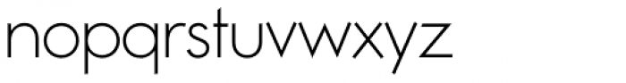 Noticia Thin Font LOWERCASE