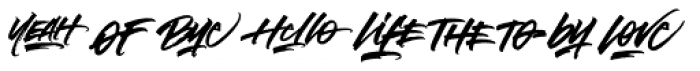 Notorious Catchwords Font LOWERCASE