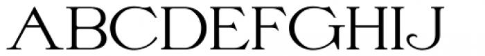 Nouveau Formal  JNL Regular Font UPPERCASE