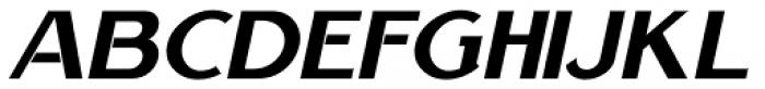 Nouveau Handlettered Oblique Font LOWERCASE