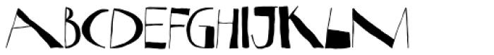 Nova Horst Font UPPERCASE
