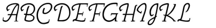 Nova Script Recut Two SG Regular Font UPPERCASE