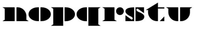Novadam Obese NF Font LOWERCASE