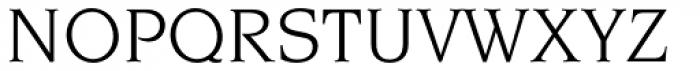 Novarese Pro Book Font UPPERCASE