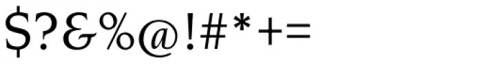 Novarese Pro Medium Italic Font OTHER CHARS