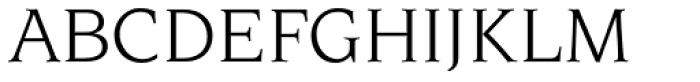 Novarese Std Book Italic Font UPPERCASE