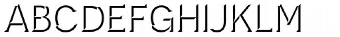 Novecento Carved Medium Font UPPERCASE