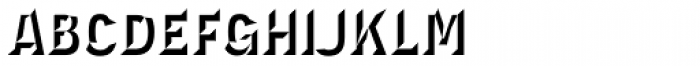 Novecento Carved Narrow Ultra Bold Font LOWERCASE