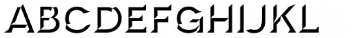 Novecento Carved Wide Bold Font UPPERCASE
