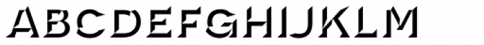 Novecento Carved Wide Bold Font LOWERCASE