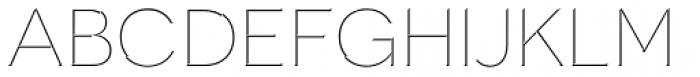 Novecento Carved Wide Light Font UPPERCASE