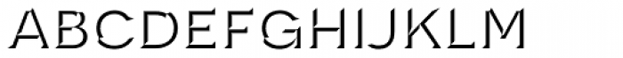 Novecento Carved Wide Medium Font LOWERCASE