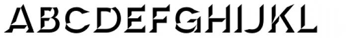 Novecento Carved Wide Ultra Bold Font UPPERCASE
