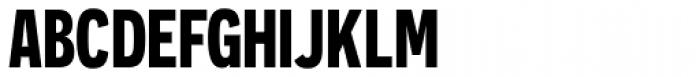 Novecento Sans Cond Bold Font UPPERCASE