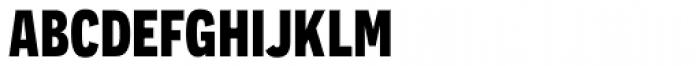 Novecento Sans Cond Bold Font LOWERCASE