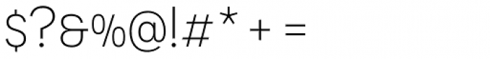 Novecento Sans Light Font OTHER CHARS