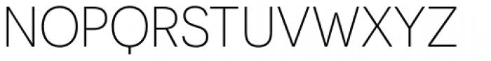Novecento Sans Light Font UPPERCASE