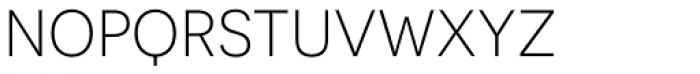 Novecento Sans Light Font LOWERCASE