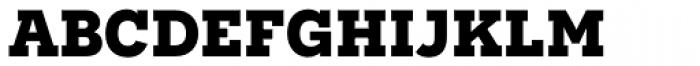 Novecento Slab Bold Font LOWERCASE