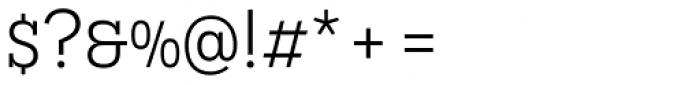Novecento Slab Book Font OTHER CHARS