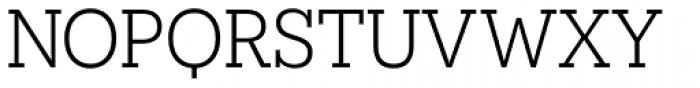 Novecento Slab Book Font UPPERCASE