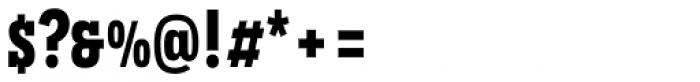 Novecento Slab Condensed Bold Font OTHER CHARS