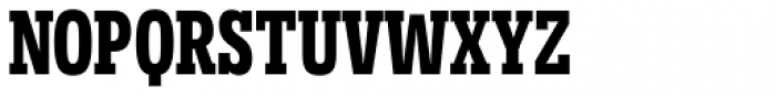 Novecento Slab Condensed Bold Font UPPERCASE
