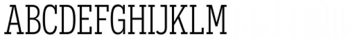 Novecento Slab Condensed Book Font UPPERCASE
