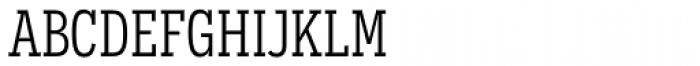 Novecento Slab Condensed Book Font LOWERCASE