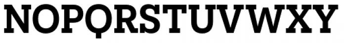 Novecento Slab DemiBold Font UPPERCASE