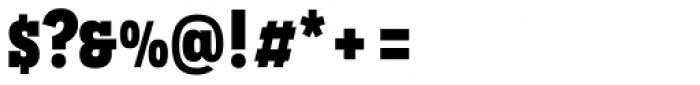 Novecento Slab Narrow UltraBold Font OTHER CHARS