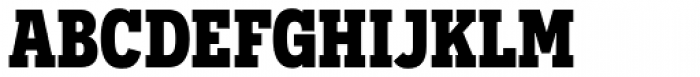 Novecento Slab Narrow UltraBold Font UPPERCASE