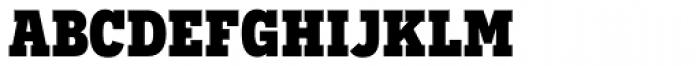 Novecento Slab Narrow UltraBold Font LOWERCASE