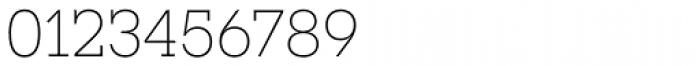 Novecento Slab UltraLight Font OTHER CHARS
