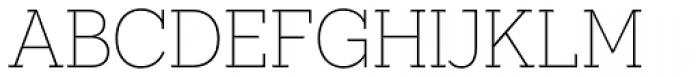 Novecento Slab UltraLight Font UPPERCASE