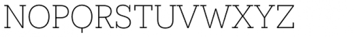 Novecento Slab UltraLight Font LOWERCASE