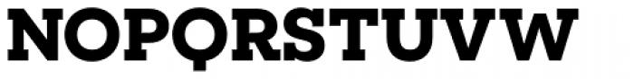 Novecento Slab Wide Bold Font UPPERCASE